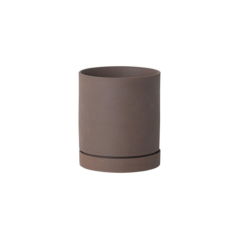 Ferm Living Sekki Potte Medium Rust-31