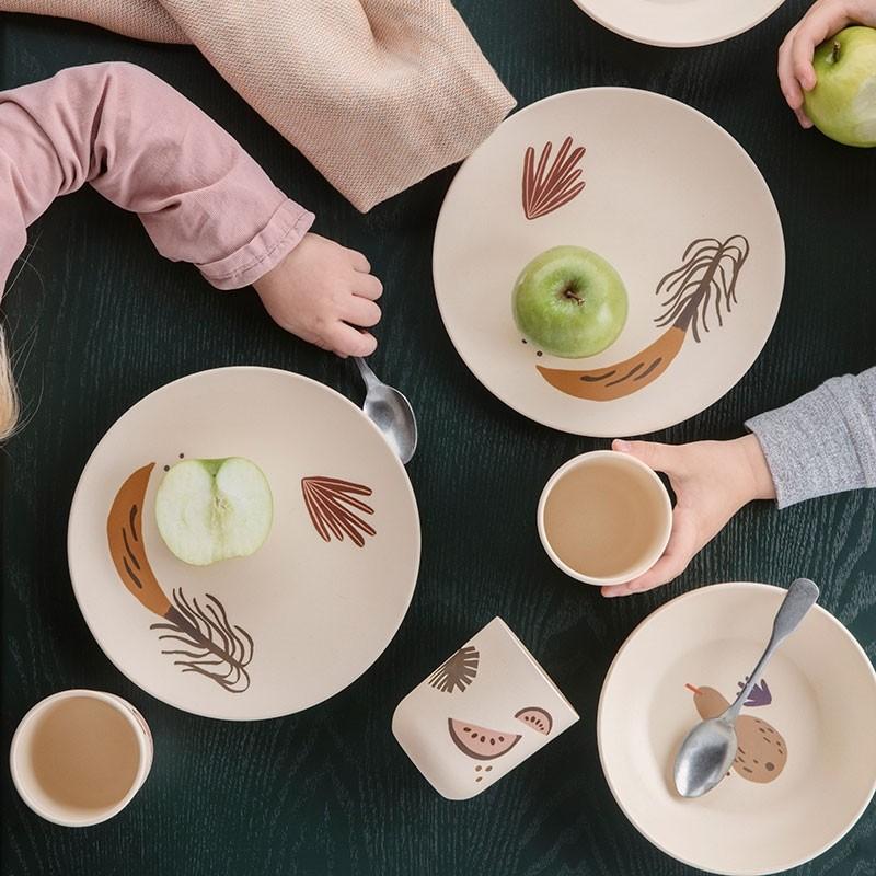 Ferm Living Kids Fruiticana Bambus Spisesæt-31