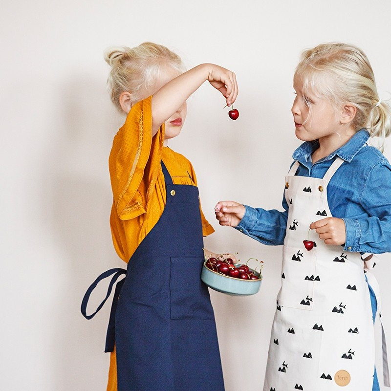Ferm Living Forklæde Børn Grå-31