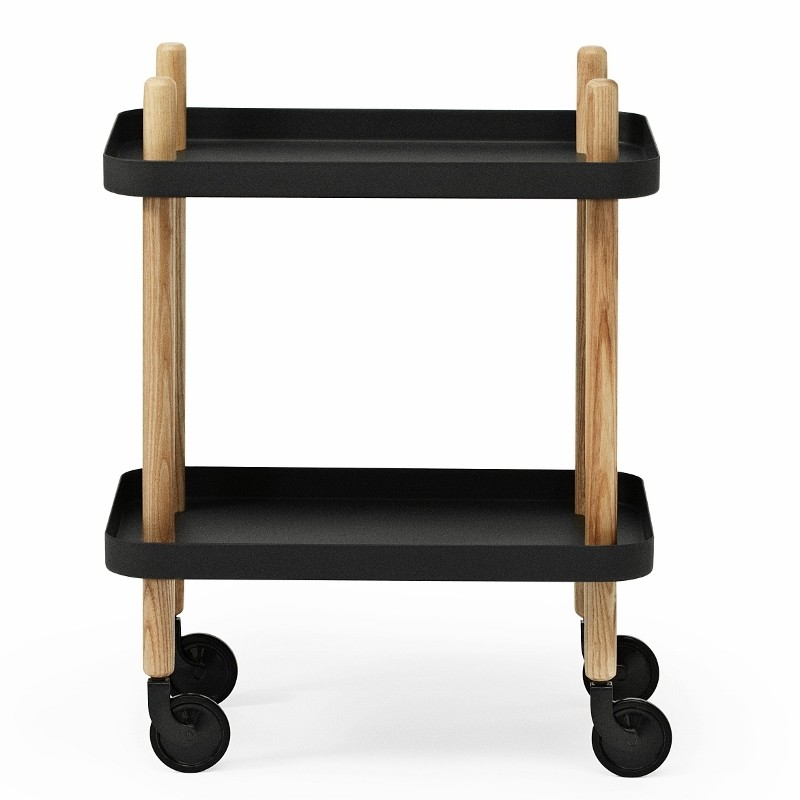 Normann copenhagen Block Rullebord Sort-31