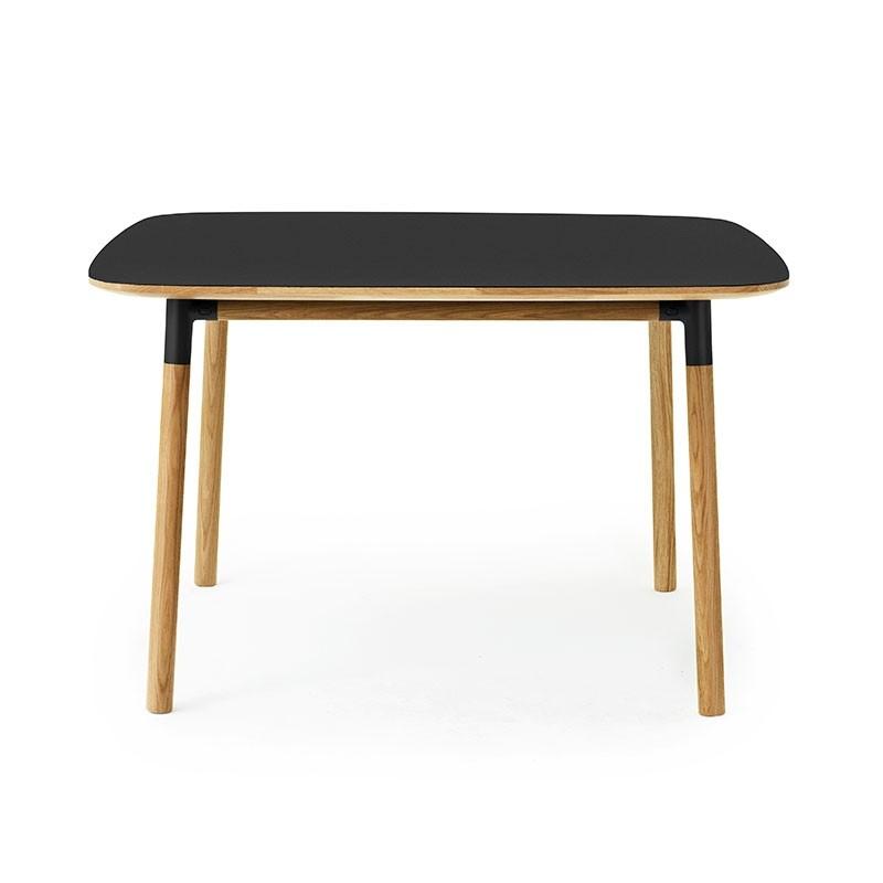 Normann Copenhagen Form Spisebord 120x120cm Sort-31
