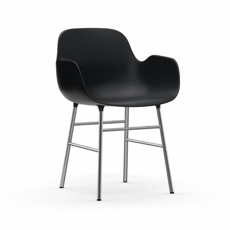 Normann Copenhagen Form Armchair Stol Krom-31