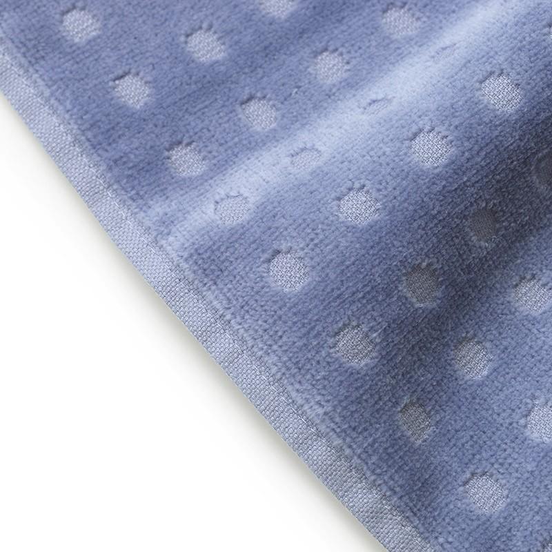 Normann Copenhagen Badehåndklæde Imprint Dot Kornblomst 70x140 cm-31