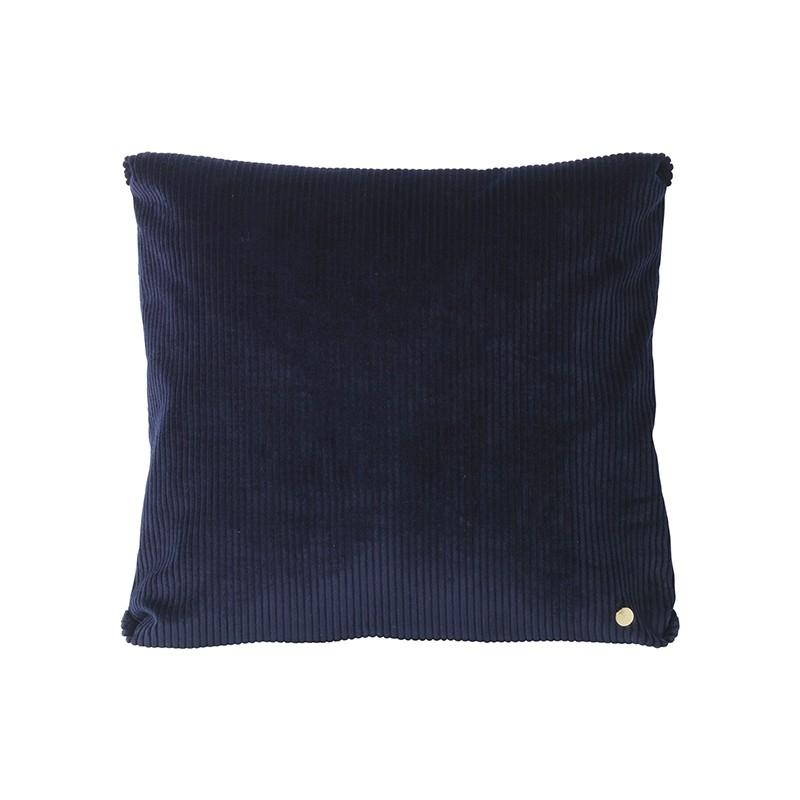 Ferm Living Corduroy Pude Blå 45 x 45 cm-31