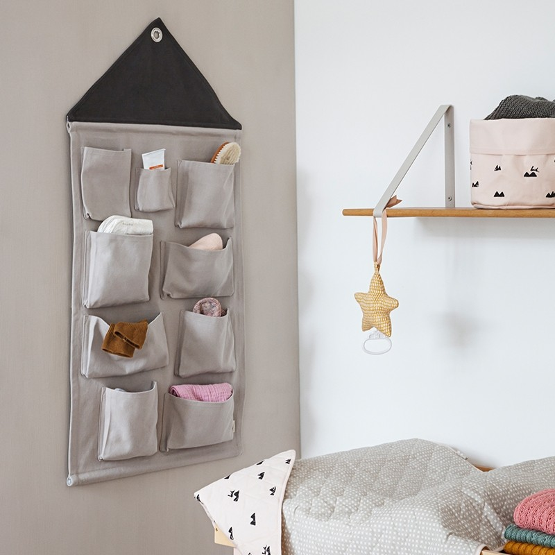 Ferm Living House Wall Storage Grå-31