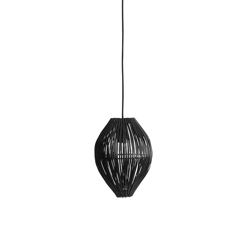 Muubs Fishtrap Lampe Sort Small-31