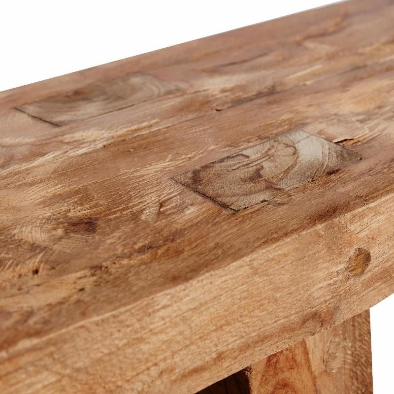 MUUBS Bænk DRIFT i genbrugs teaktræ 140 cm.-31