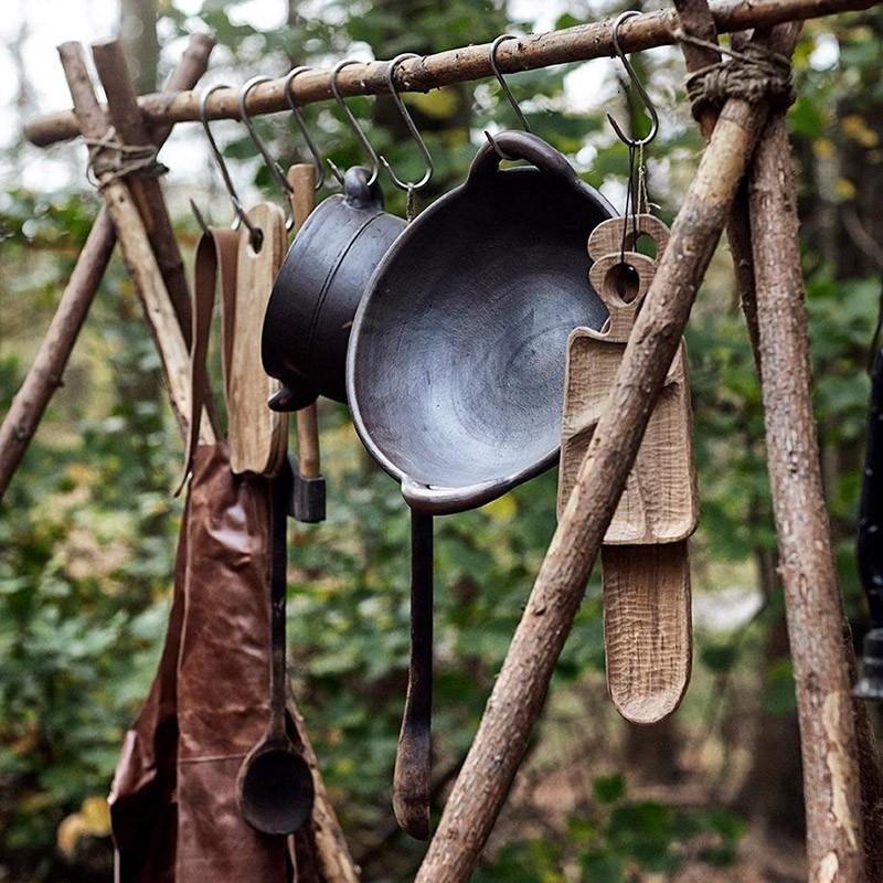 Muubs Forklæde Camou Læder-31