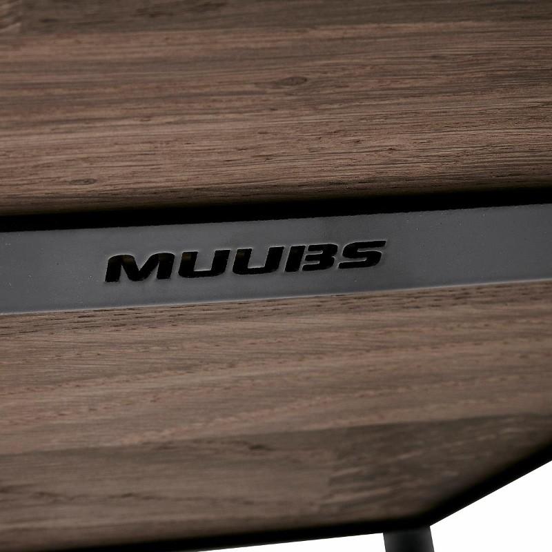 Muubs Barstol Move 65 cm Sort/Røget Eg-31
