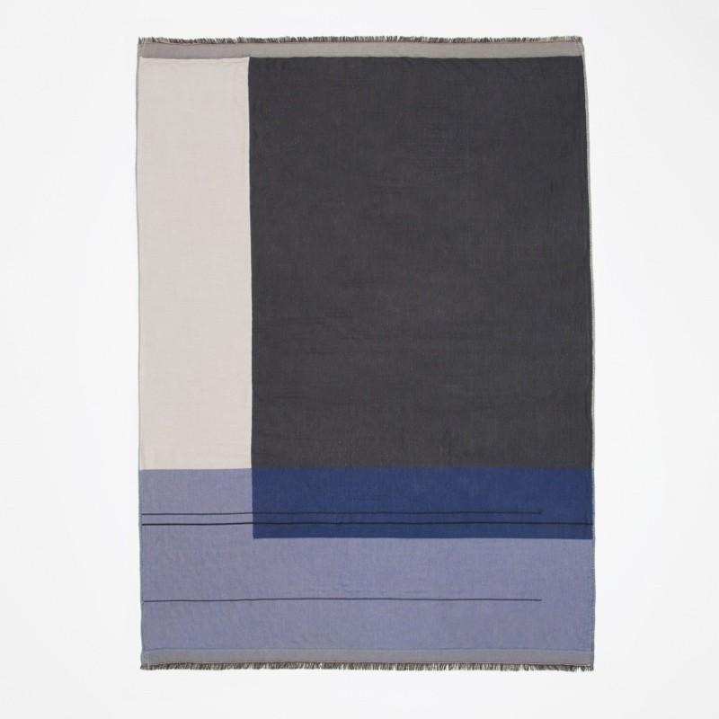 Ferm Living Colour Block Plaid Blue-31