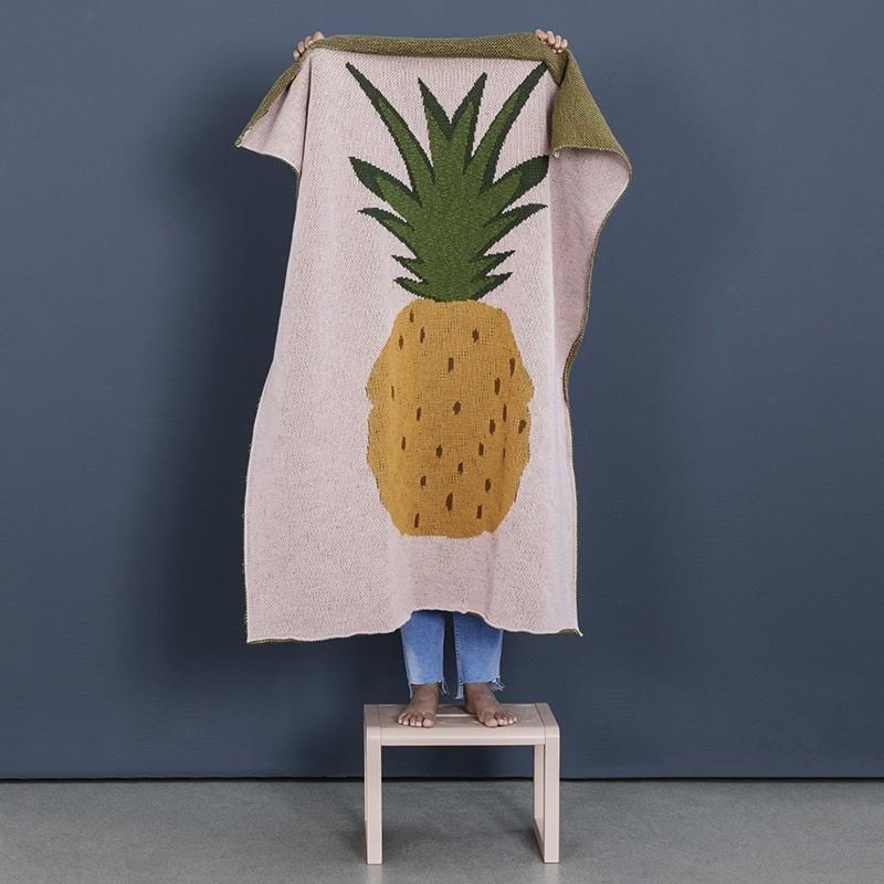 Ferm Living Plaid Fruiticana Ananas-31