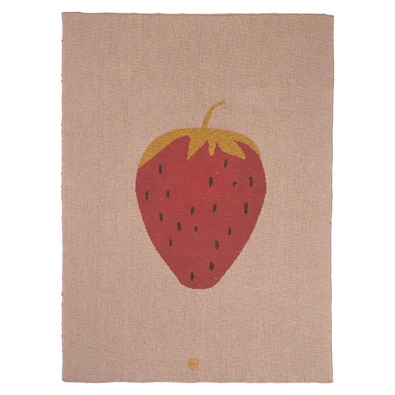 Ferm Living Plaid Fruiticana Jordbær-31