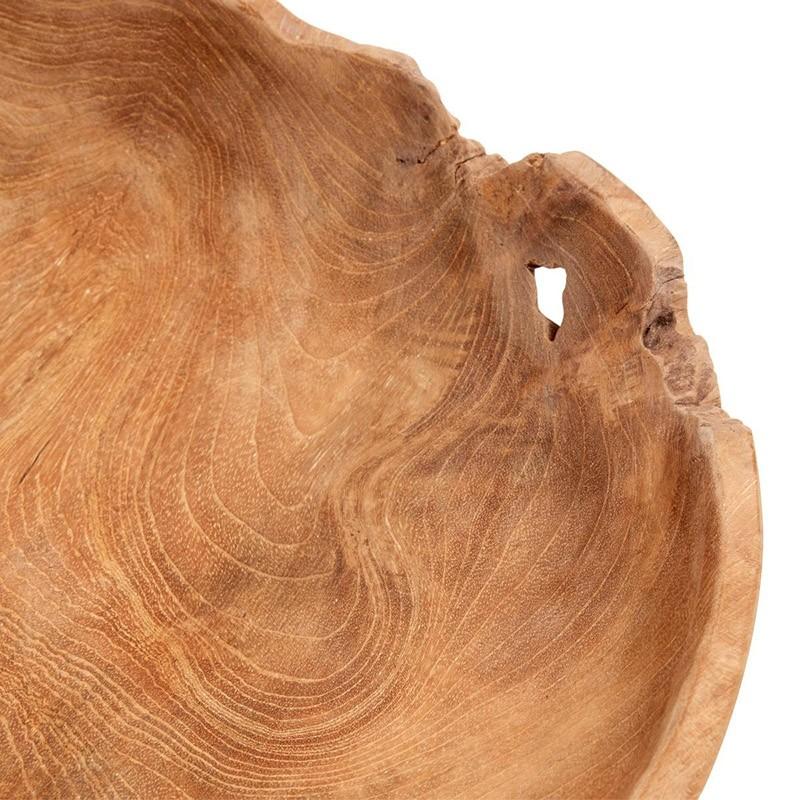 Muubs Hailey Bakke i Teakrod 40 cm.-31