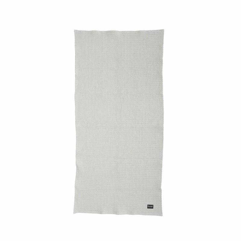 Ferm Living Håndklæde 50 x 100 cm Lysegrå-31