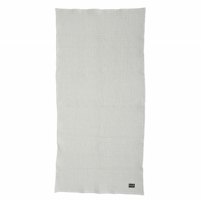 Ferm Living Badehåndklæde 70 x 140 cm Lysegrå-31
