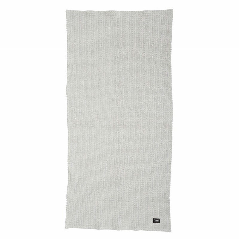 Ferm Living Badehåndklæde 70 x 140 cm Lysegrå 2. sortering-31