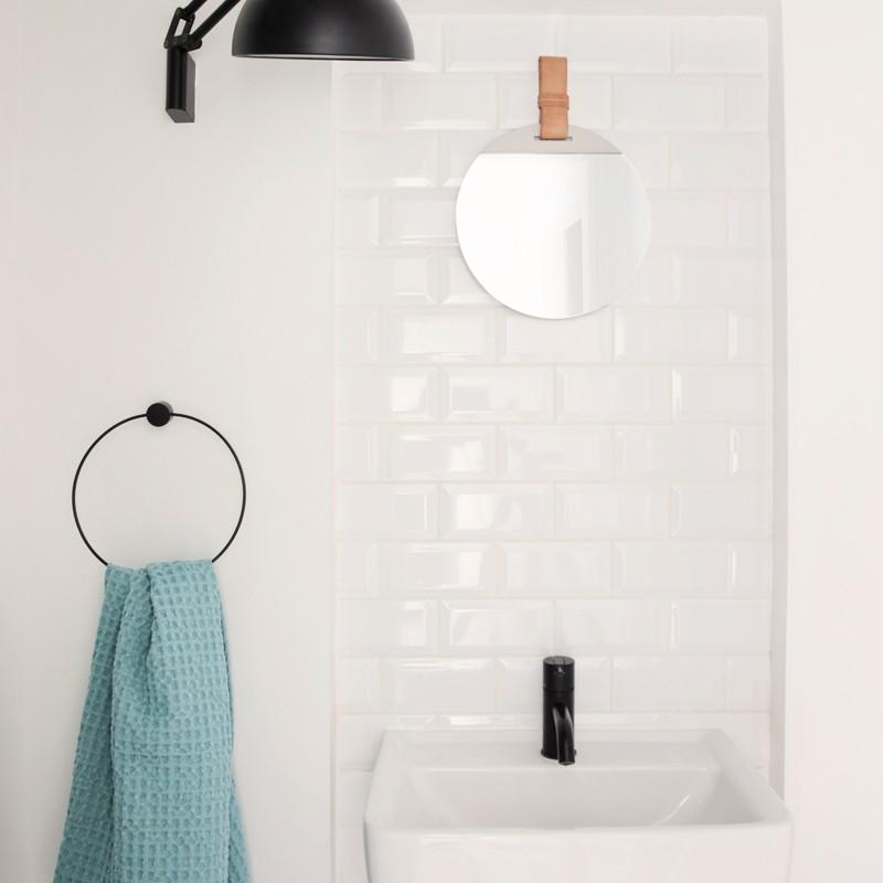 Ferm Living Bade Håndklæde 70 x 140 cm Blå-31