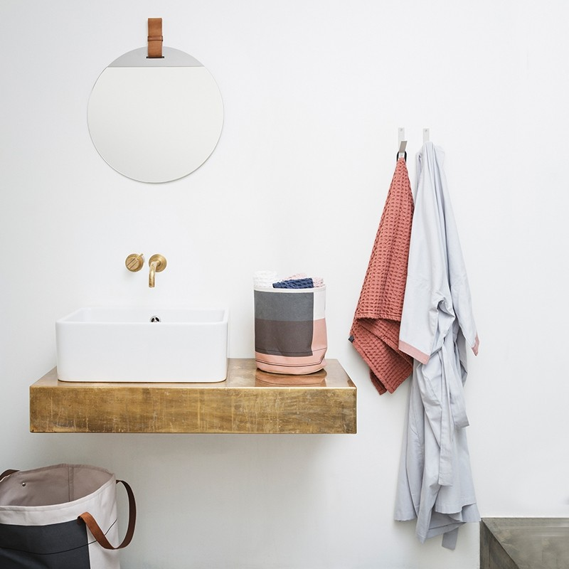Ferm Living Håndklæde 50 x 100 cm Rosa-31