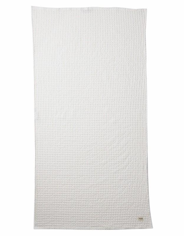 Ferm Living Bade Håndklæde 70 x 140 cm Hvid-31