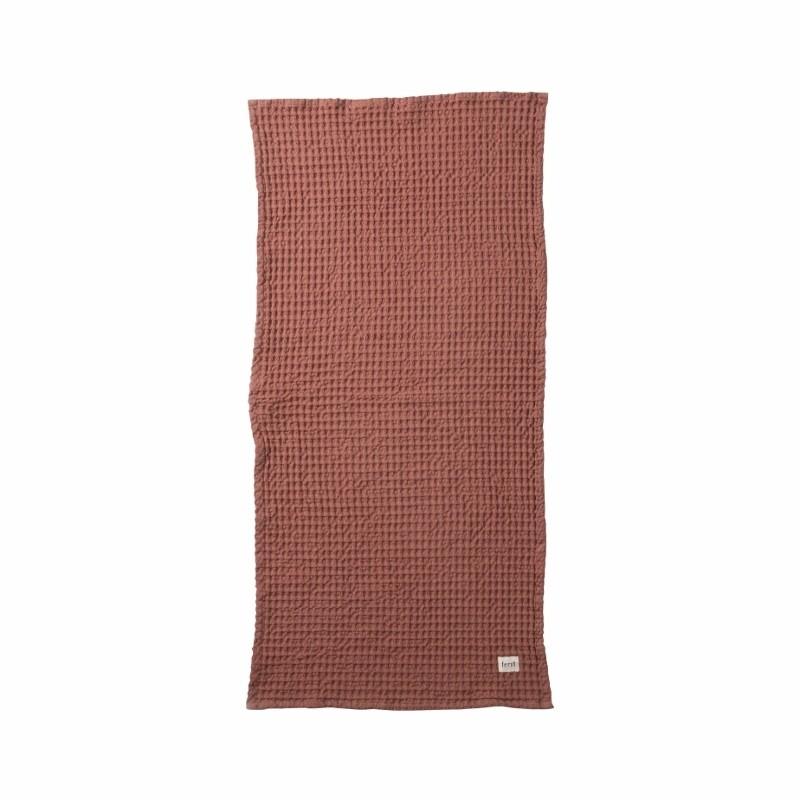 Ferm Living Håndklæde 50 x 100 cm Rust-31