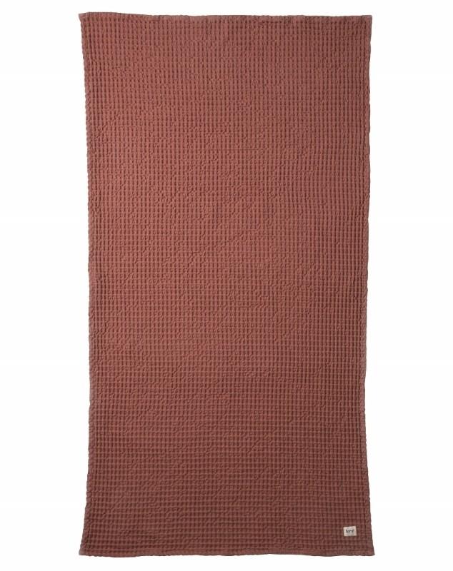 Ferm Living Bade Håndklæde 70 x 140 cm Rust-31
