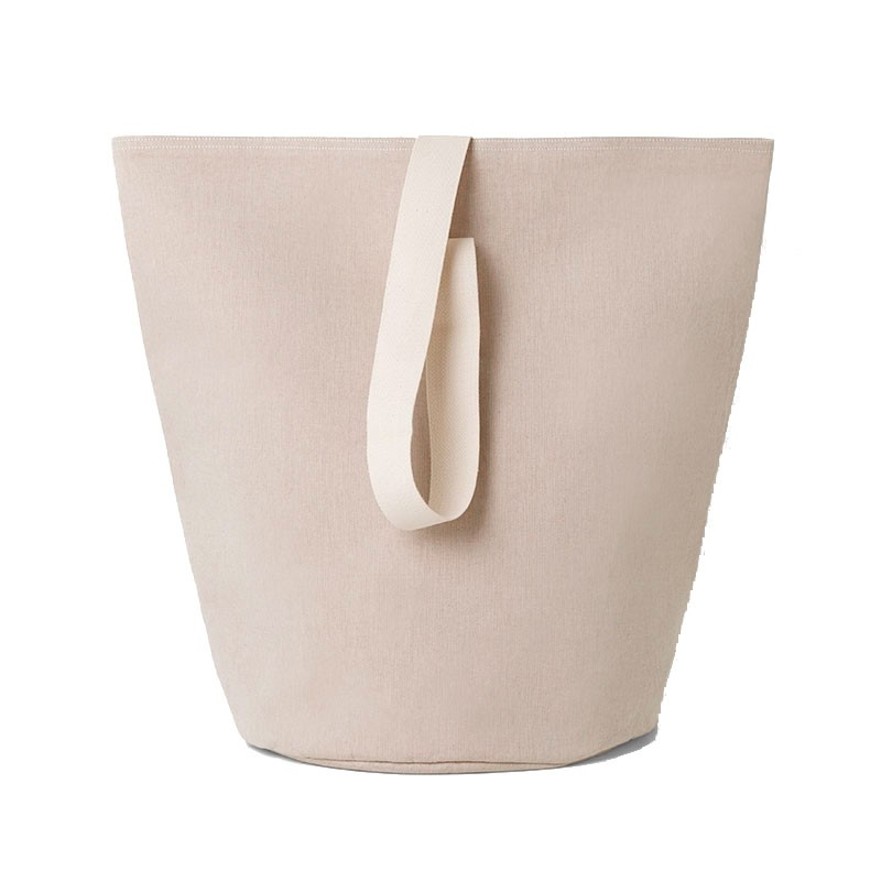 Ferm Living Vasketøjskurv Chambray Stor Sand-31