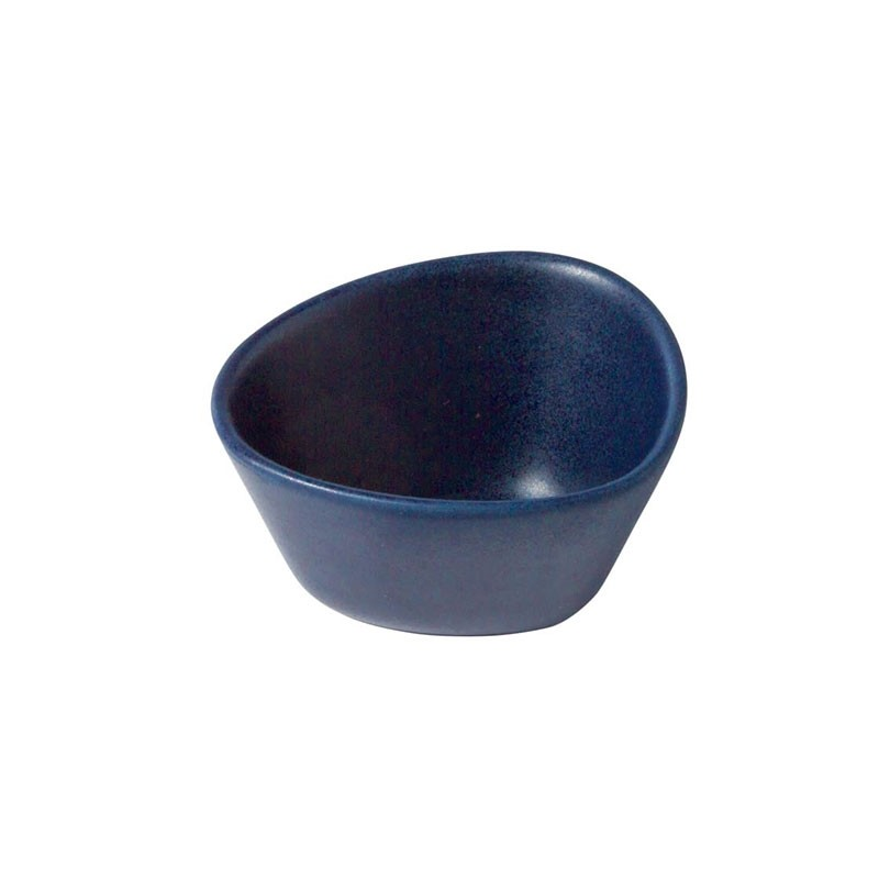 LindDNA Curve Stoneware Lille Skål Blå-31