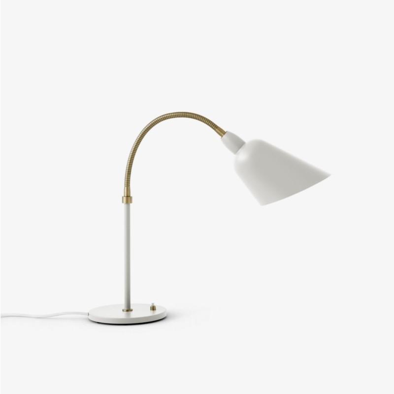 andtradition Bordlampe Bellevue AJ8 Hvid / Messing-31