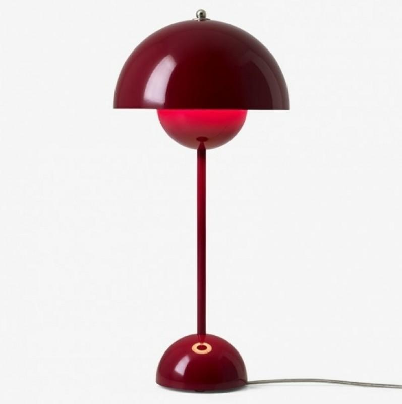 andtradition Flowerpot bordlampe VP3 Deep Red-31