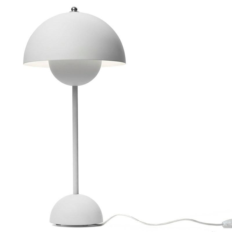 andtradition Flowerpot bordlampe VP3 Mat Light Grey-31