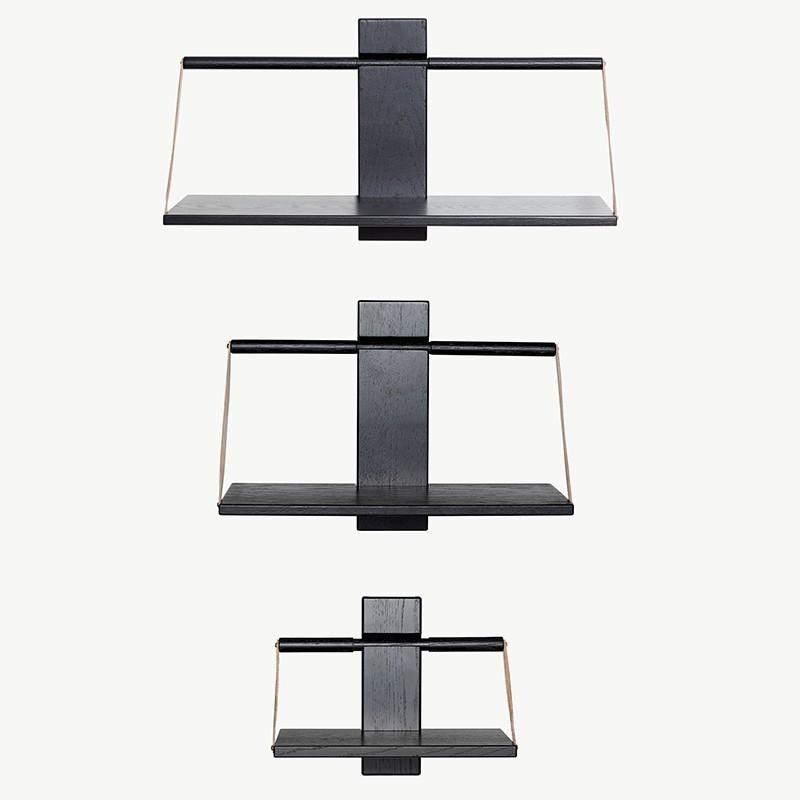 Andersen Furniture Shelf Wood Wall Sort Eg Lille-31