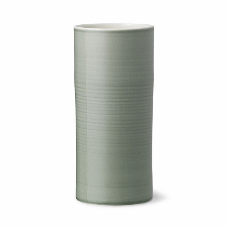 Anne Black Bloom Vase Large Jade-31