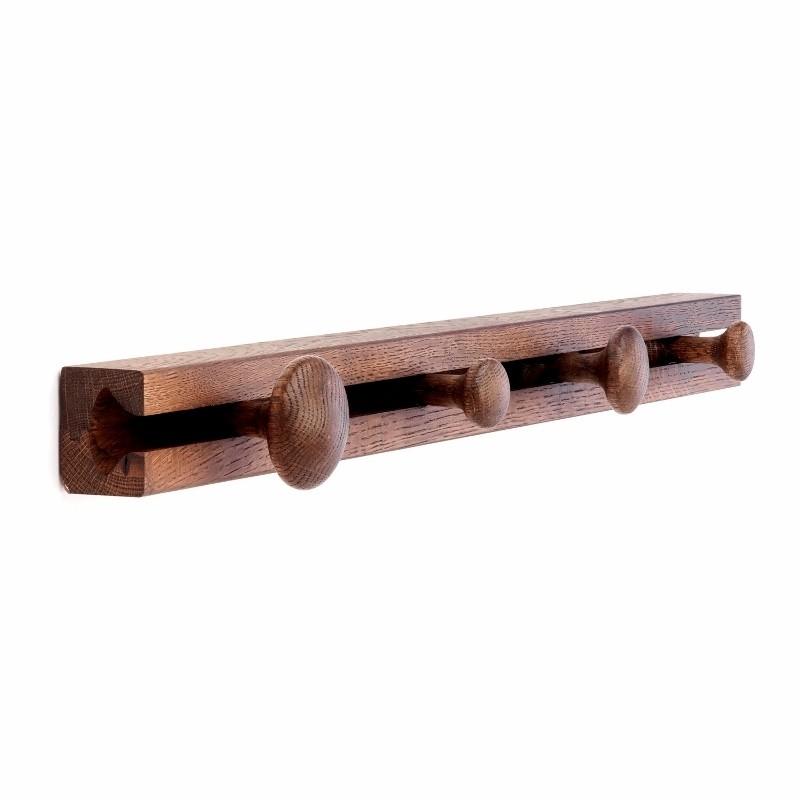 Applicata Track Coat Rack Knagerække Røget Eg 60 cm.-31