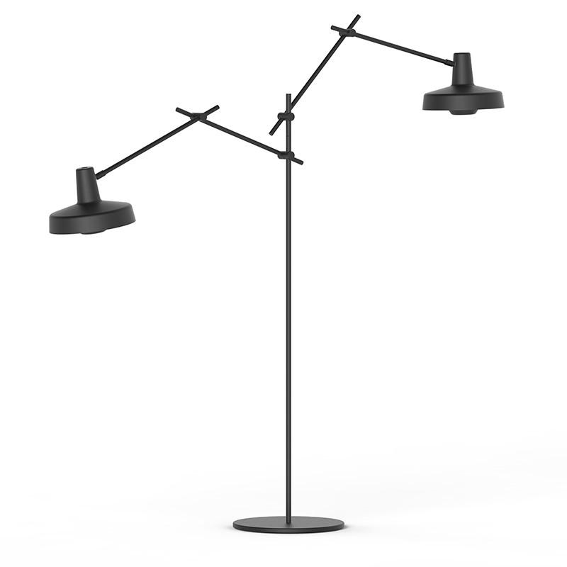 LampefeberArigatoDobbeltGulvlampeSort-31
