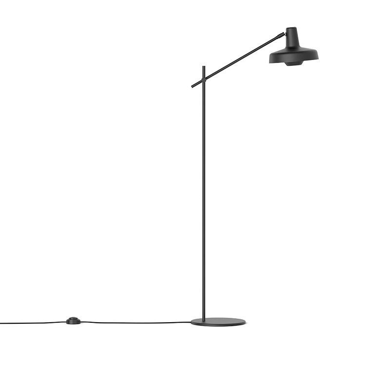 Lampefeber Arigato Kort Gulvlampe Sort-31