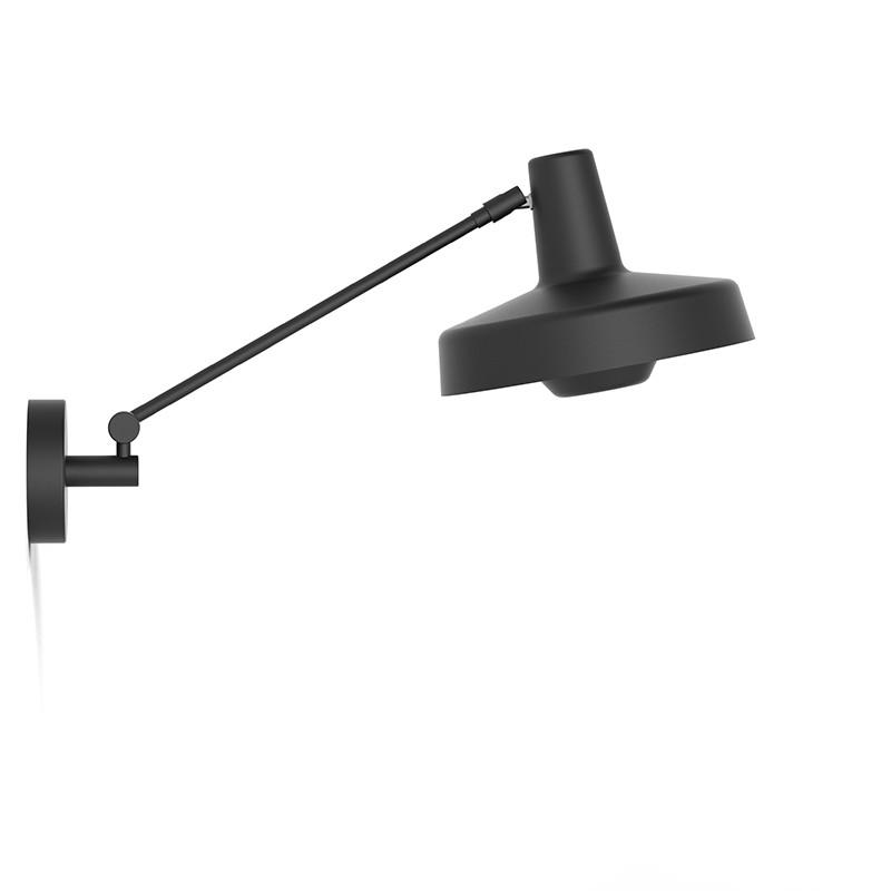 Lampefeber Arigato Kort Væglampe Sort-31
