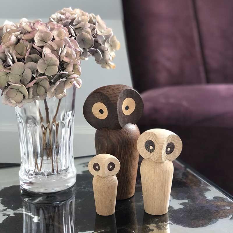 Architectmade Ugle The Owl Mini Eg Natur-31