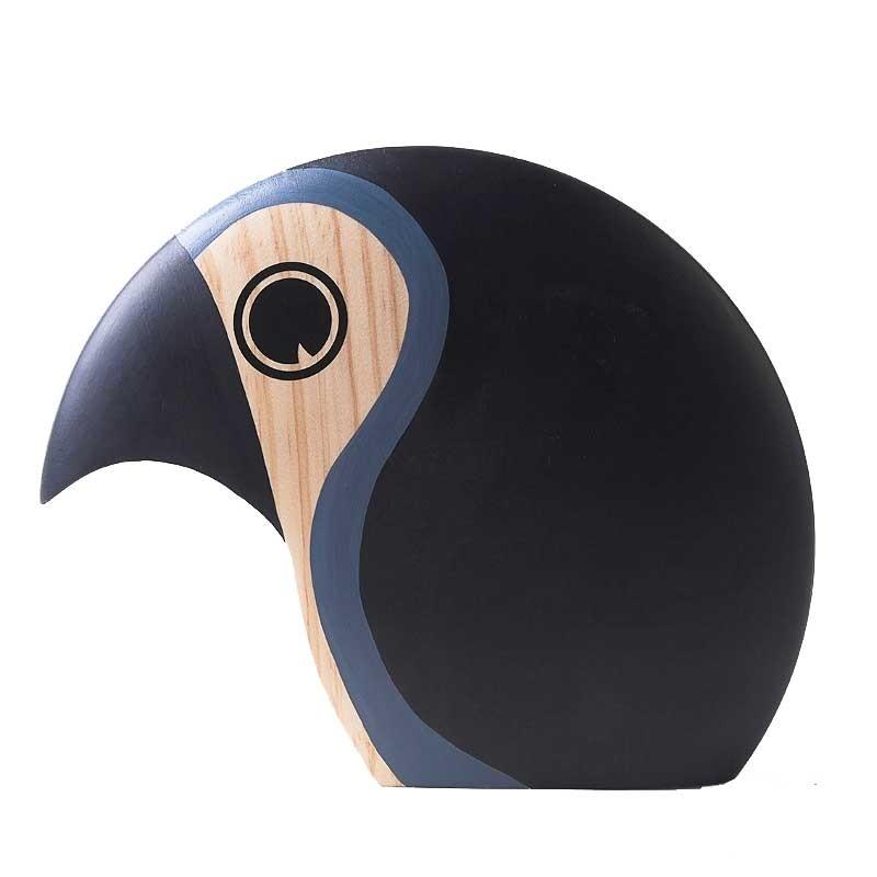 Architectmade Discus Fugl Large Grey-31