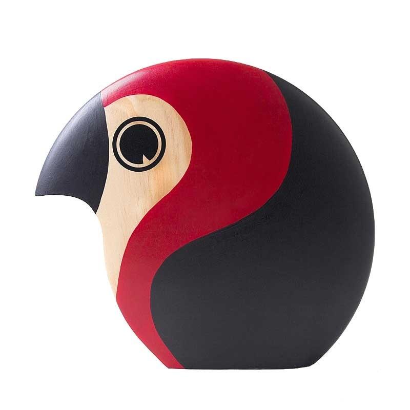 Architectmade Discus Fugl Large Rød-31