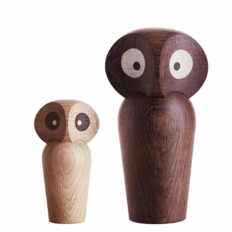 Architectmade Ugle The Owl Large Røget Eg-31