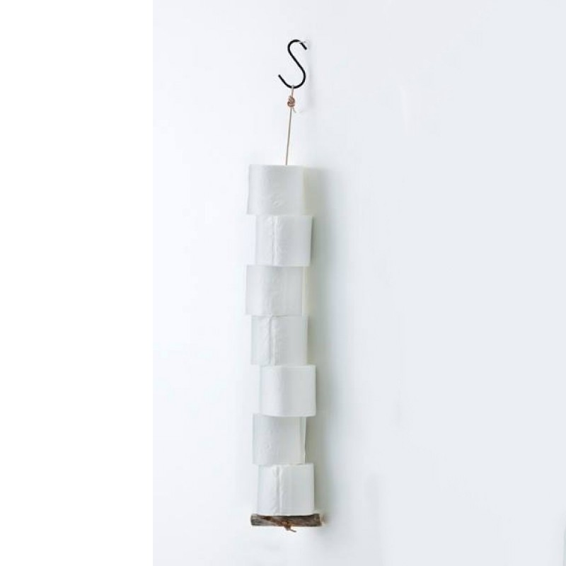 by Piippola Silver Pine Toiletrulle holder 100cm-33