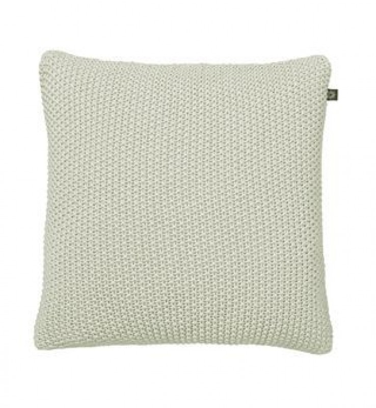 By Nord Strikpude Fine knit Light Grey 50x50 cm-31