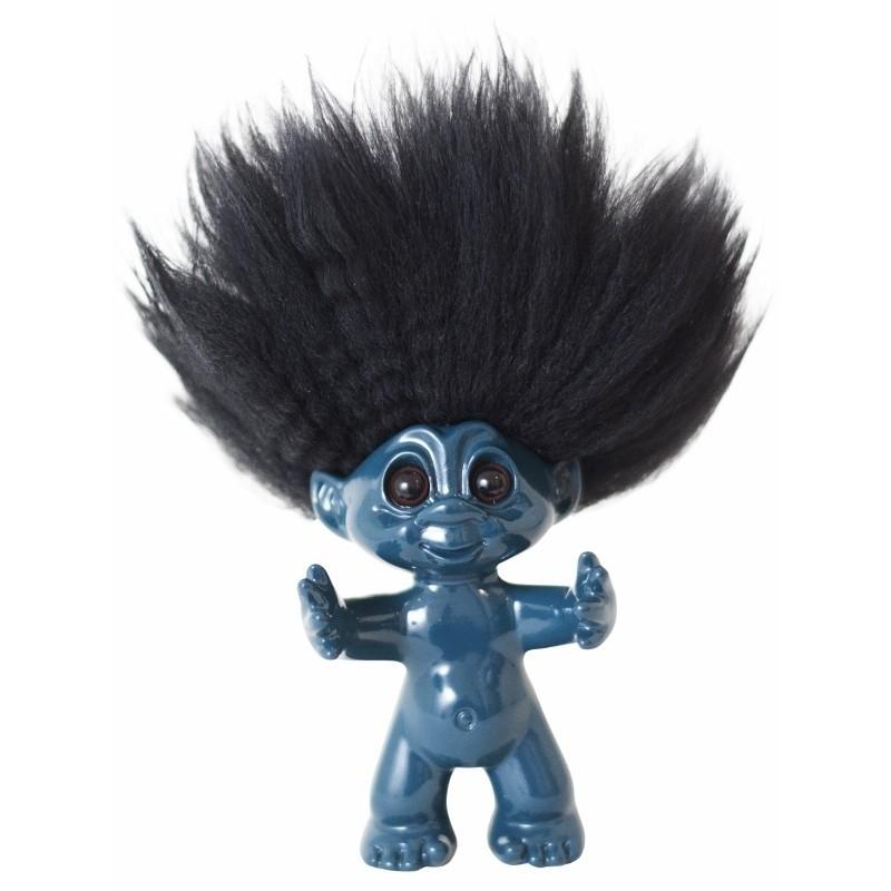 bySommer Lykketrold Petrolium m. sort hår 9 cm-31
