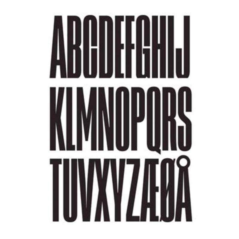 Design Letters Wooden Bogstaver Sort-31