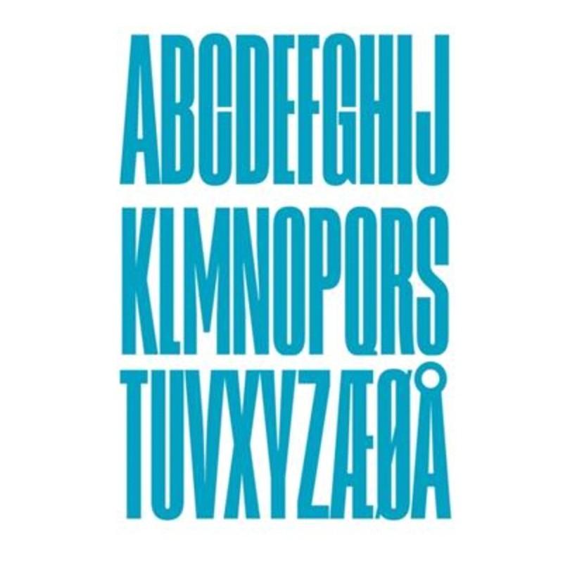 Design Letters Wooden Bogstaver Turkis-31