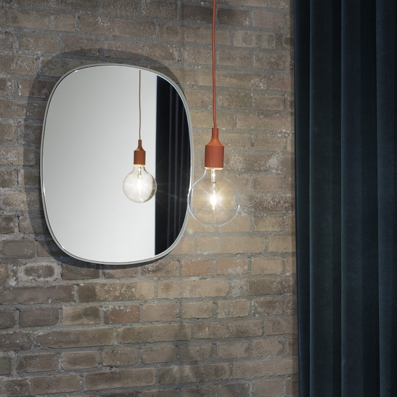Muuto Spejl Framed Mirror Small Grey/Clear-31