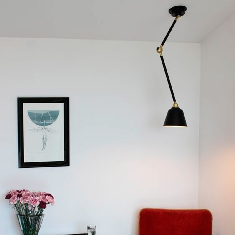 Eleanor Home Lampe Spencer Sort/Guld-31