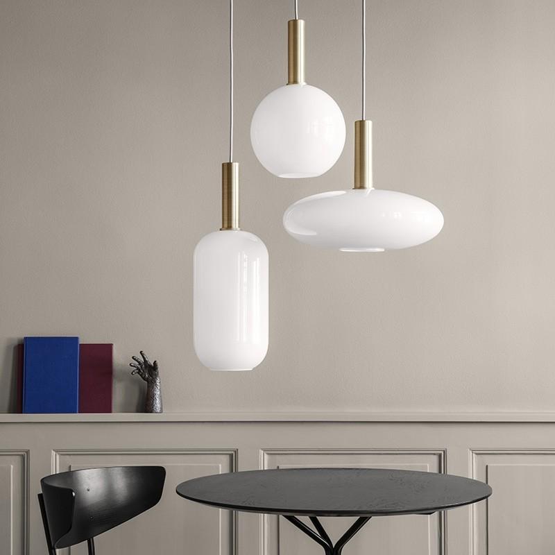 Ferm Living Lampeskærm Opal Shade Sphere-31