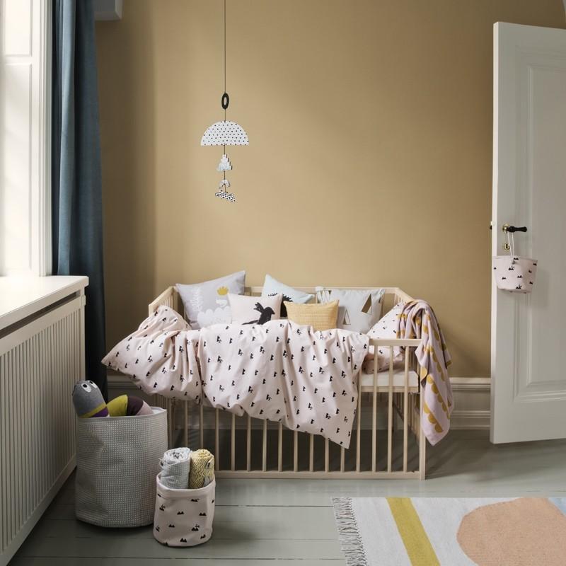 Ferm Living Sengetøj Rose Rabbit Baby-31