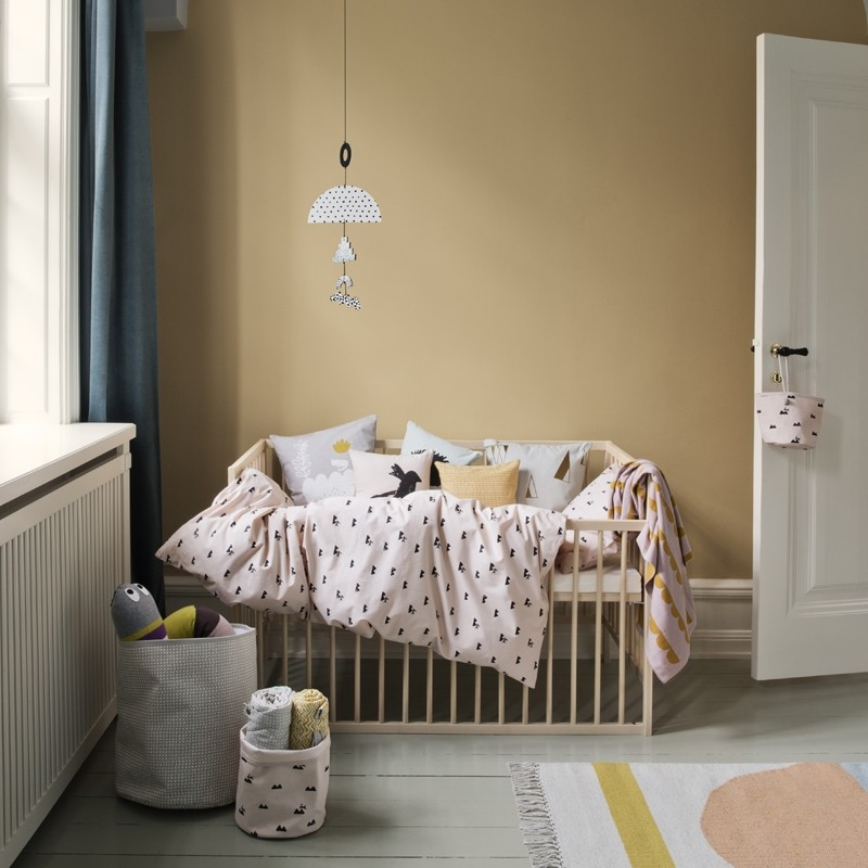 Ferm Living Sengetøj Rose Rabbit Junior-31